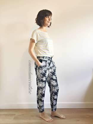Makerist - Pantalon Gilbert (République du Chiffon) - 1