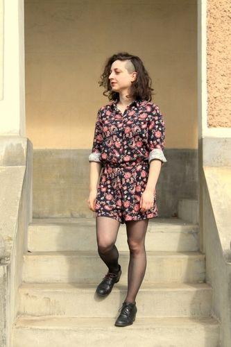 Makerist - Combi short motif cachemire - Créations de couture - 1