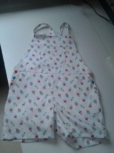 Makerist - combi-short, coton, ma petite fille - Créations de couture - 1