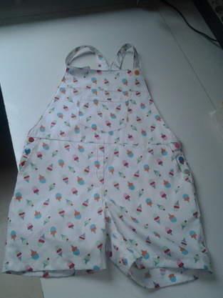 Makerist - combi-short, coton, ma petite fille - 1