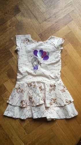 Makerist - Geburtstagskleid mit Plottdatei Fly Away von Paul&Clara - Textilgestaltung - 1