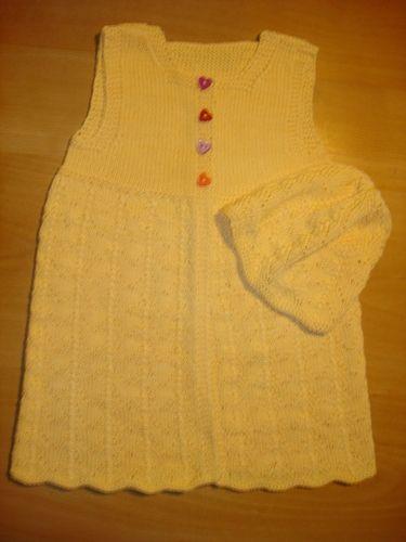 Makerist - Sommerkleidchen mit Mütze - Strickprojekte - 1