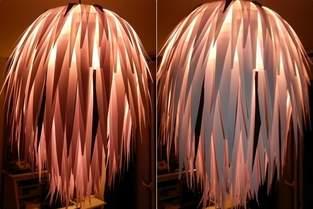 Makerist - Papierlampe - 1
