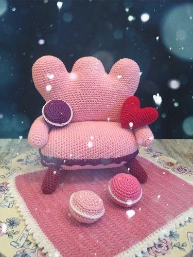 Makerist - Möbel für das Puppenhaus  - Häkelprojekte - 1