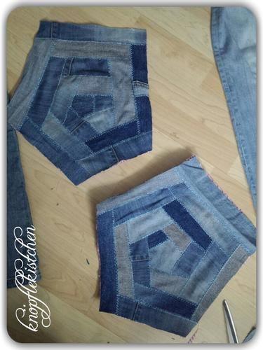 Makerist - Jeans-Crazypatchwork - Patchwork-Projekte - 1