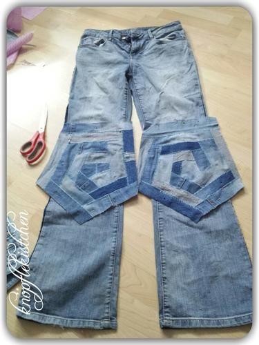 Makerist - Jeans-Crazypatchwork - Patchwork-Projekte - 2