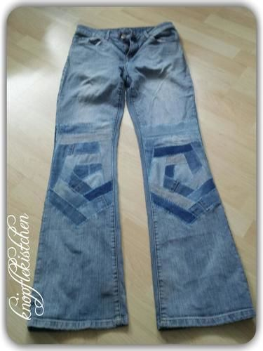 Makerist - Jeans-Crazypatchwork - Patchwork-Projekte - 3