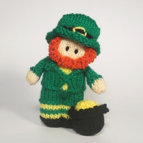 Makerist - St Patrick's Day - Leprechaun - Knitting Showcase - 1
