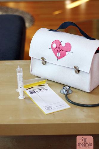 Makerist - Arztkoffer aus Filz - Nähprojekte - 1