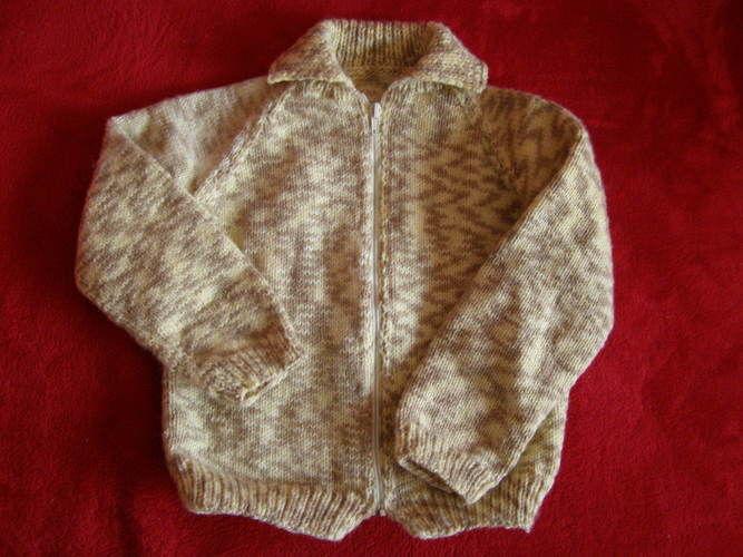 Makerist - Gilet enfant 4 ans - Créations de tricot - 1