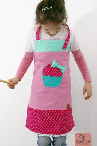 Makerist - Muffin-Schürze für Kinder - Nähprojekte - 1