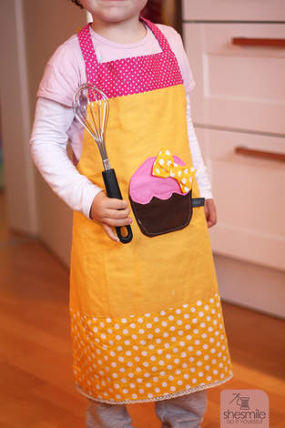 Makerist - Muffin-Schürze für Kinder - 1