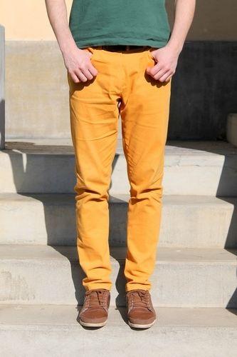 Makerist - Jean jaune pour homme - Créations de couture - 1