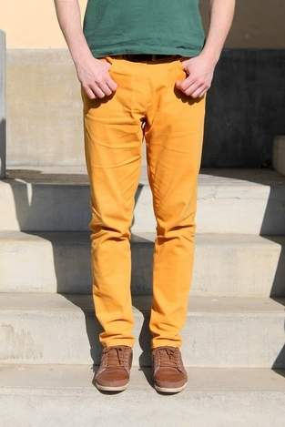 Makerist - Jean jaune pour homme - 1