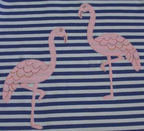 Makerist - Longshirt mit Flamingos - Nähprojekte - 2