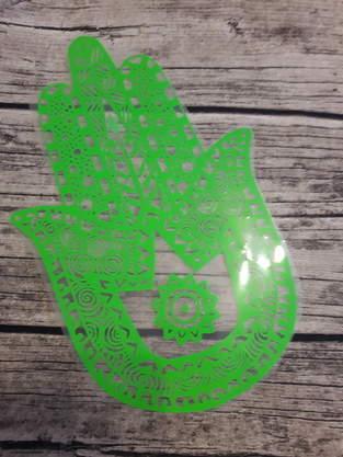 Makerist - Einkaufstasche mit Plotterdatei die Hand Fatimas von Min Zairi  - 1
