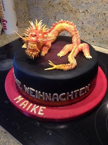 Makerist - Glücksdrache  - Torten, Cake Pops und Cupcakes - 1