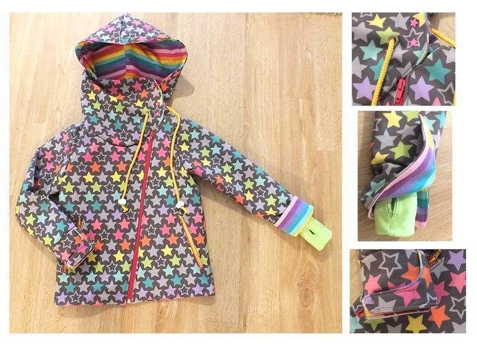 Makerist - Softshelljacke für Mädchen - Nähprojekte - 1