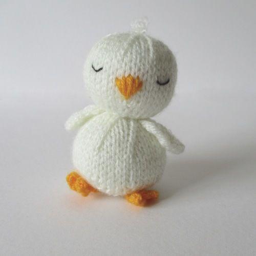 Makerist - Sleepy Chick - Knitting Showcase - 1