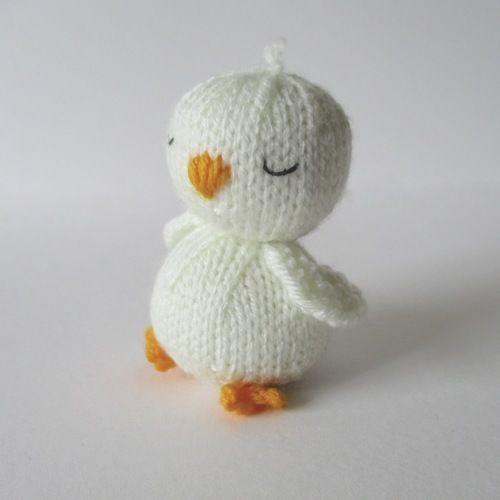 Makerist - Sleepy Chick - Knitting Showcase - 2