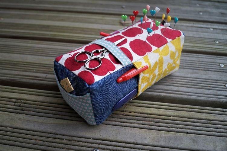 Makerist - carry-all-pincusion Noodlehead - Nähprojekte - 1