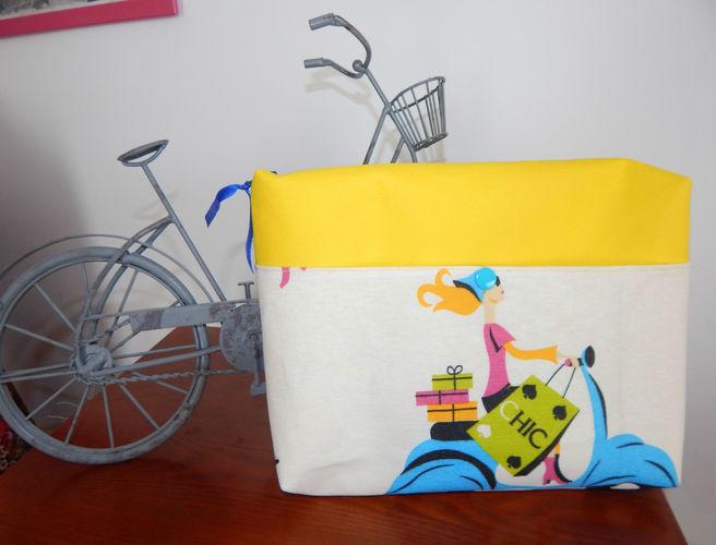 Makerist - Concours trousse rétro bicyclette - Créations de couture - 1