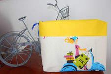 Makerist - Concours trousse rétro bicyclette - 1