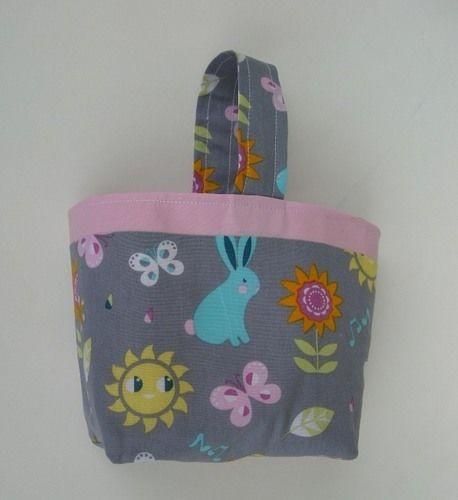 Makerist - Panier de Pâques, Panier pour doudou ou pour le goûter 100% coton * Idée cadeau idéal pour enfant  - Créations de couture - 1