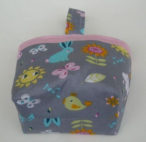 Makerist - Panier de Pâques, Panier pour doudou ou pour le goûter 100% coton * Idée cadeau idéal pour enfant  - Créations de couture - 2