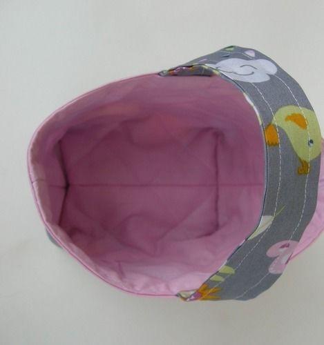 Makerist - Panier de Pâques, Panier pour doudou ou pour le goûter 100% coton * Idée cadeau idéal pour enfant  - Créations de couture - 3