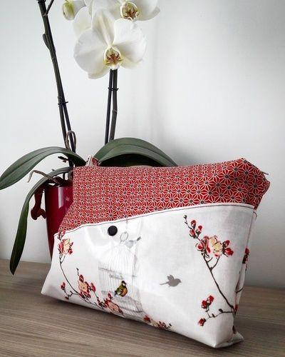 Makerist - Trousse de toilette esprit Zen - Créations de couture - 1