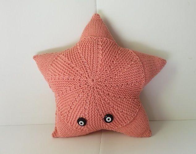 Makerist - Norma le coussin étoile de mer - Créations de tricot - 1