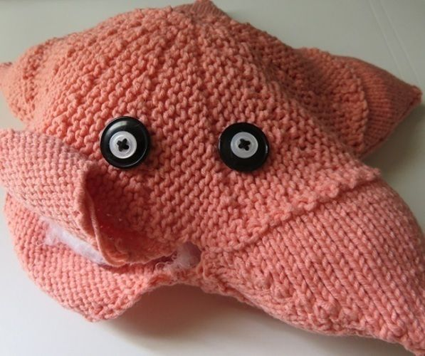 Makerist - Norma le coussin étoile de mer - Créations de tricot - 2