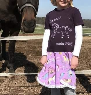 ChamäLeah trifft Pony