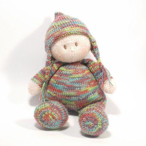 Makerist - Jo-Jo Doll - Knitting Showcase - 1