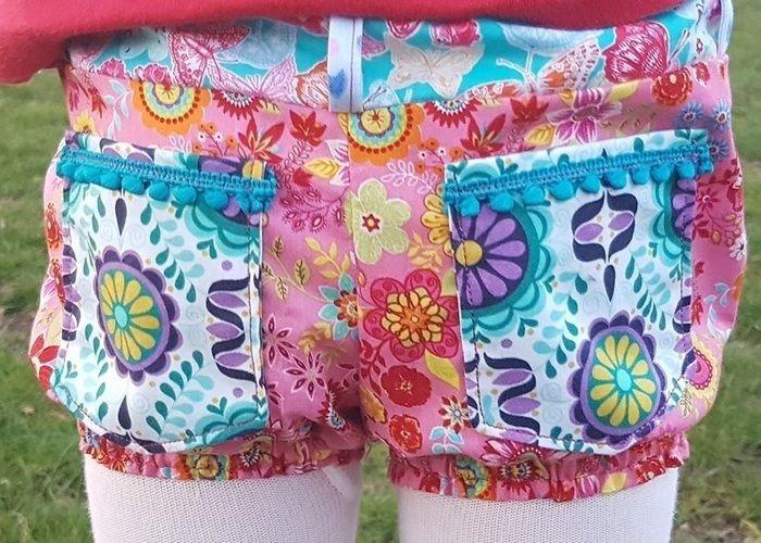 Makerist - Kunterbunte Shorts - Nähprojekte - 1