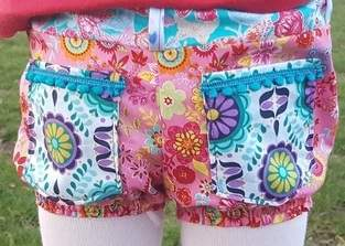 Makerist - Kunterbunte Shorts - 1