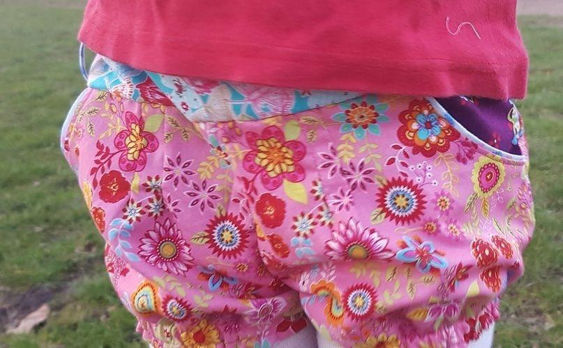 Makerist - Kunterbunte Shorts - Nähprojekte - 3