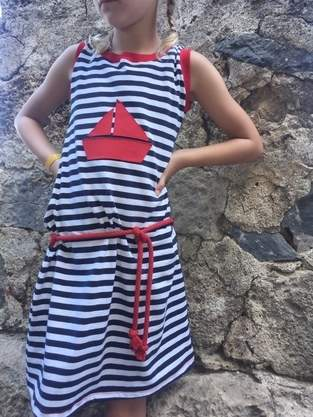 sportliches Kleid für Kids