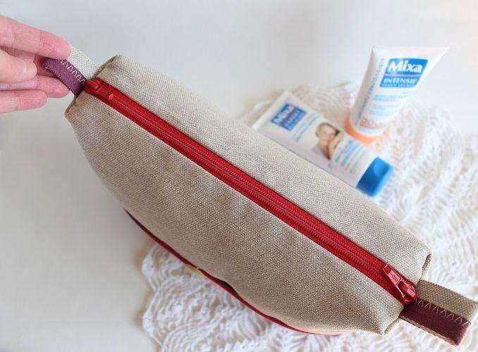 Makerist - Concours de couture Trousse de toilette mauve beige - Créations de couture - 3