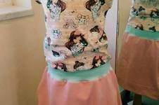 Makerist - Retro-Dress Jerseykleid peachy - 1