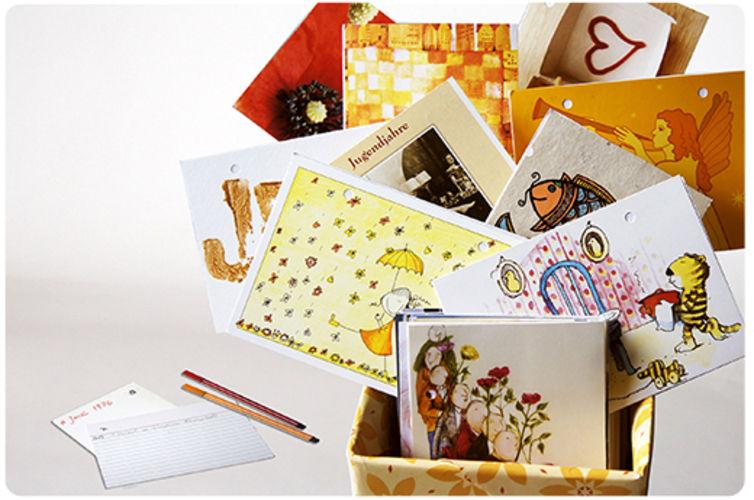 Makerist - Ewiger Kalender - Erinnerungsbox - DIY-Projekte - 1