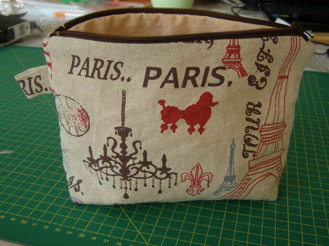 Makerist - Ma petite trousse parisienne  - Créations de couture - 2