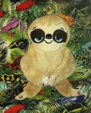 Makerist - Unser Faultier Lazy lebt im Urwald u. unter Fröschen fühlt es sich puddel wohl 😊 - 1