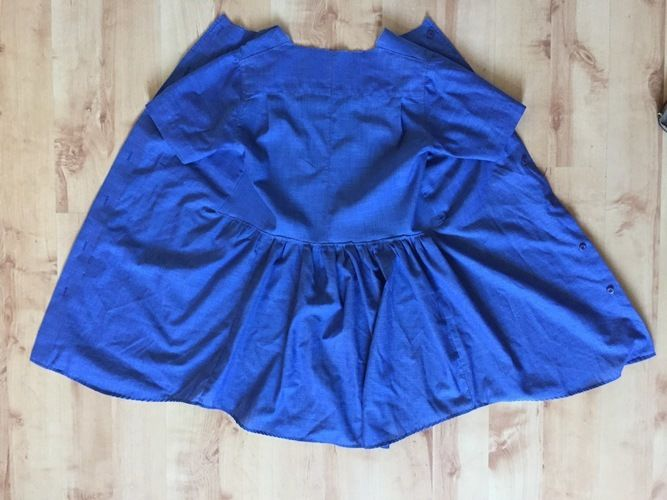 Makerist - einfaches Kinderkleid aus einem Herrenhemd - Nähprojekte - 3