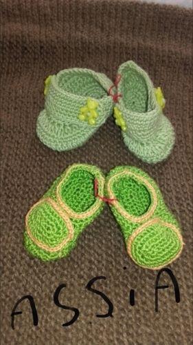 Makerist - Chaussons pour bébé prématuré  - Créations de crochet - 1