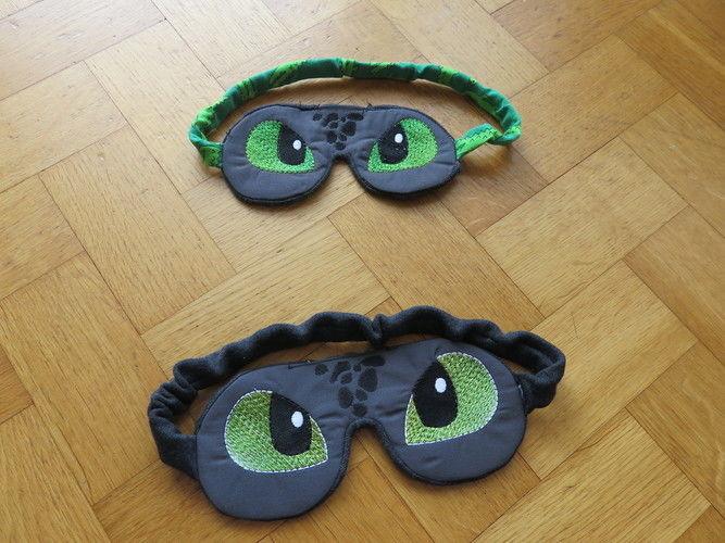 Makerist - Dinoschlafbrillen - Nähprojekte - 1
