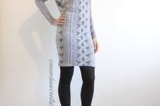 Makerist - Robe courte avec manches chauve-souris / tissu python - 1