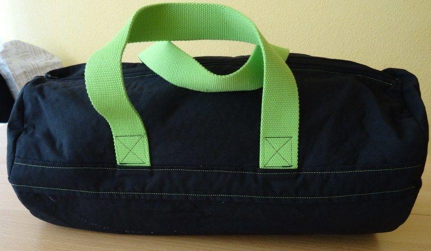 Makerist - Sporttasche mit Spruch von Shesmile - Nähprojekte - 1