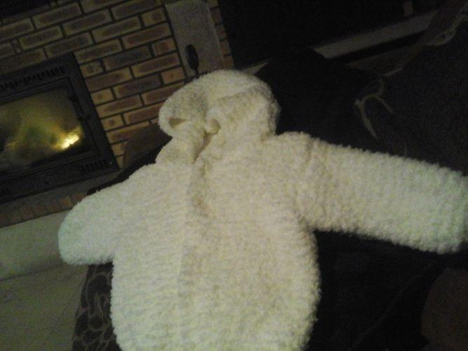 Makerist - petit manteau en phil douce de chez phildar - Créations de tricot - 1